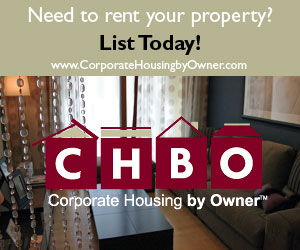 List today with Corporate Housing by Owner