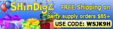 FREE Shipping on Orders $85+ at Shindigz.