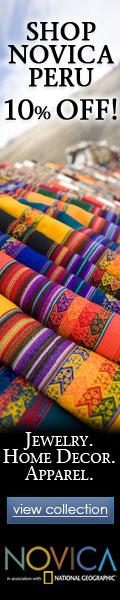 120x600 Shop NOVICA Peru - 10% Off. 6.21-6.27