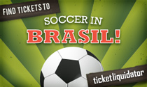 Soccer in Brasil tickets
