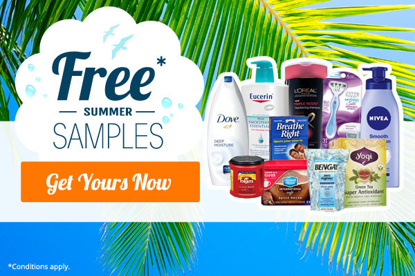 Select your free samples from QualityHealth!