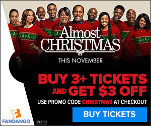 $3 off 3 Tickets to Almost Christmas