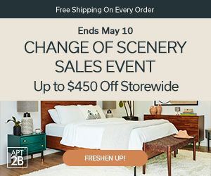 Change of Scenery Sales Event! Up to $450 off!