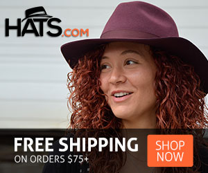 Hats.com Free Shipping on all orders over $75!