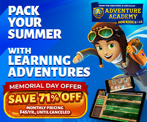 Adventure Academy - $45 for 1 Year!