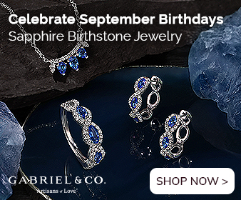 September Birthstone Ruby Fine Jewelry Banner