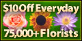 $10 Off All Online Flower Orders