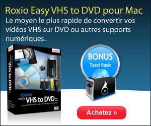 Roxio Easy VHS to DVD for Mac 300x250