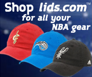 NBA Hats and Apparel at lids.com