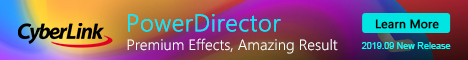 PowerDirector 8 - supports Blu-Ray & AVCHD