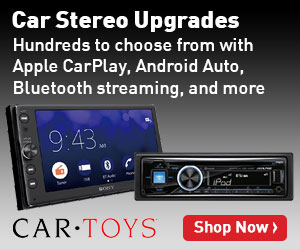 Image for Car Stereo Upgrades at Car Toys - Anytime - 300x250