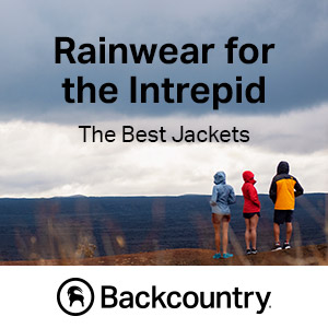 Embrace the Weather With the Best Selection of Rainwear at Backcountry.com