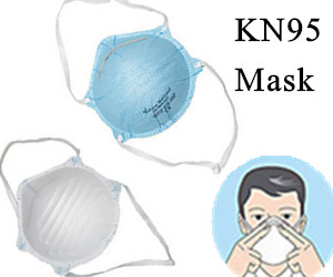 20 Pcs KN95 Protective Mask Respirator For Virus Face Mask