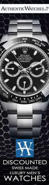 Discounted Swiss Made Luxury Men's Watches