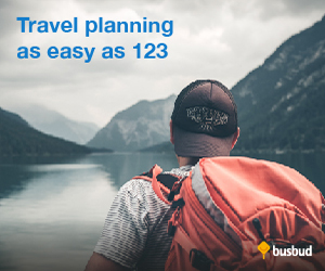 Travel Planning Easy as 123 at Busbud.com!