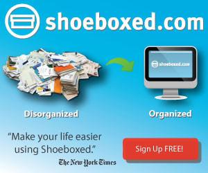 Disorganized to Organized plus NYT - Shoeboxed.com