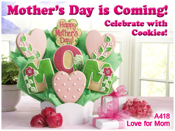 Image for Mother's Day is Coming! Celebrate with Cookies!
