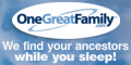 We Find Your Ancestors While You Sleep (120x60) [advertisement]