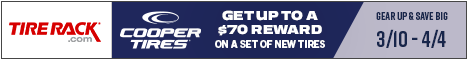 Get Up to $150 Back from BFGoodrich® and Michelin®