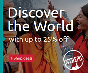 Discover the World with up to 25% off 300x250