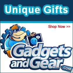 Thousands Of Unique Gifts At GadgetsandGear.com
