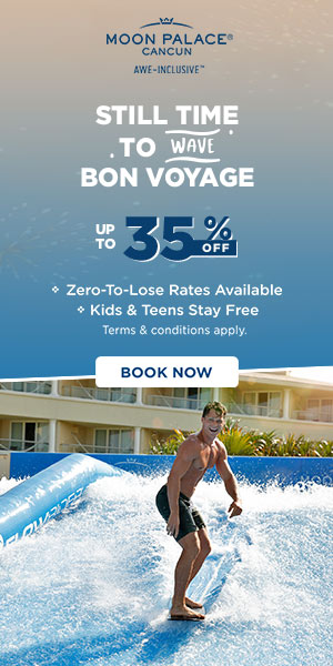 Browsing our special offers for later? Act now and enjoy at Moon Palace Cancun.