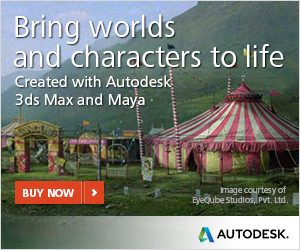 Bring worlds and character to life | Autodesk Software