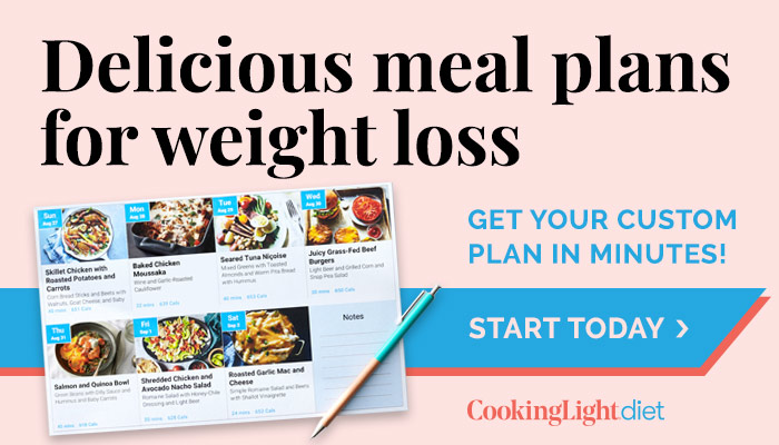 Delicious meal plans for weight loss