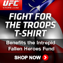 Fight For Our Troops UFC Shirt