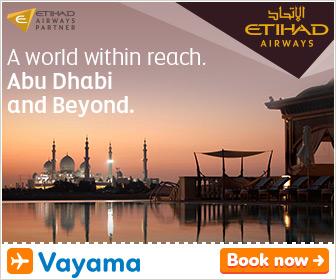 Vayama - Etihad Airways: up to 50% off!