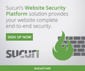 sucuri website security advertisement