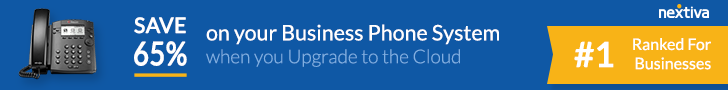 Nextiva Office: Award-Winning Business Class Phone Service - No contracts or set-up fees!
