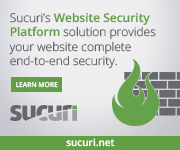 Sucuri - The best website security solution 2020