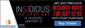 Buy tickets to 'Insidious: The Last Key'