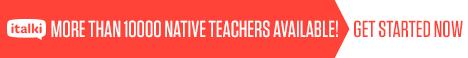 Find a native language teacher online