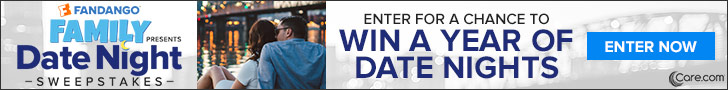 Fandango Family Date Night Sweepstakes