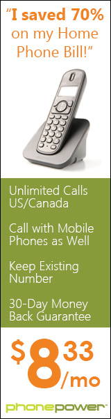 Unlimited Calling to US and Canada as low as $8.33 a month