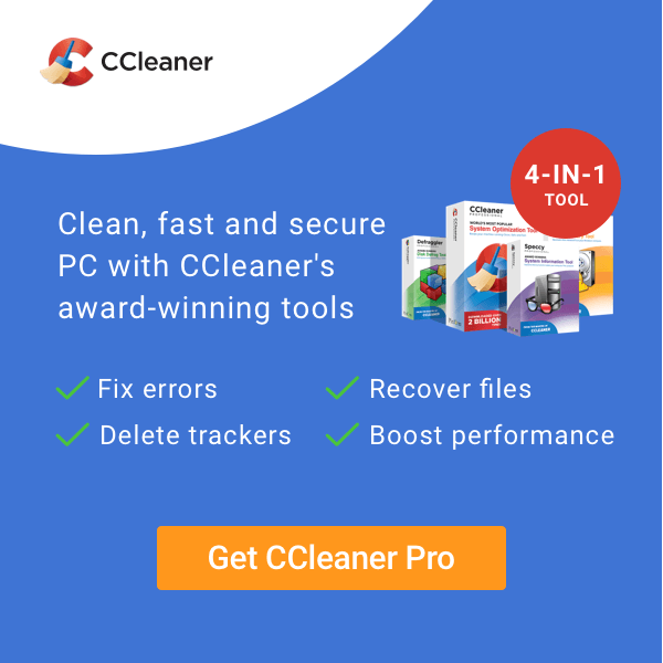 CCleaner Coupons & Offers