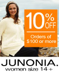 10% off orders of $100 or more
