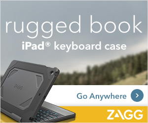 Rugged iPad Keyboard Case