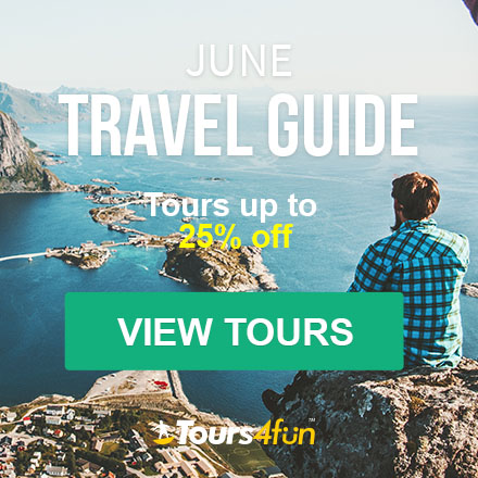 The June Travel Guide is here! Maximize your Summer Adventures with up to 25% off trips at Tours4Fun