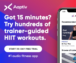 Aaptiv - The #1 Audio Fitness App