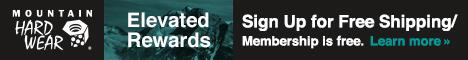 Sign Up For Elevated Rewards Membership at MountainHardwear.com.