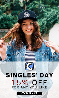 Singles' Day! 15% Off for Any You Like Code:SL ! Free Shipping!