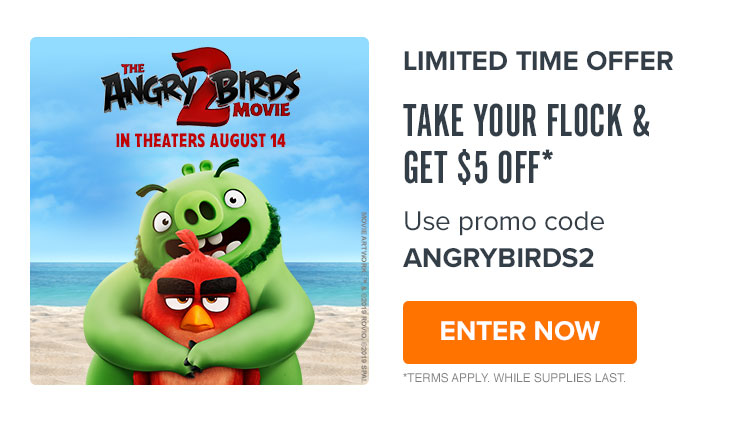750x422 Fandango: Get $5 off two or more tickets with promo code ANGRYBIRDS2