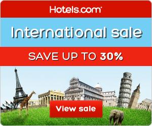 300x250 - Hotels.com International Sale