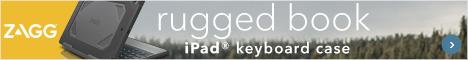 Rugged iPad Keyboard Case