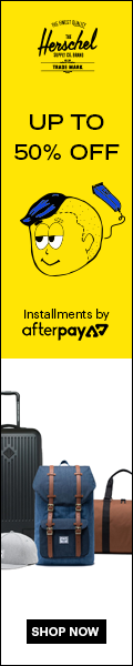 Up to 50% off. Enjoy now, pay later with Afterpay.