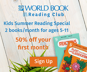 Introductory Kids Reading Club Special - Just 2 Books For $1!