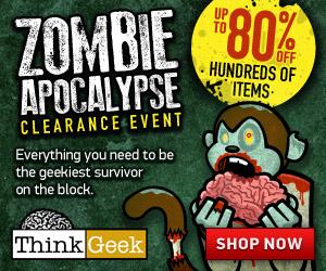 ThinkGeek: Zombie Apocalypse S...